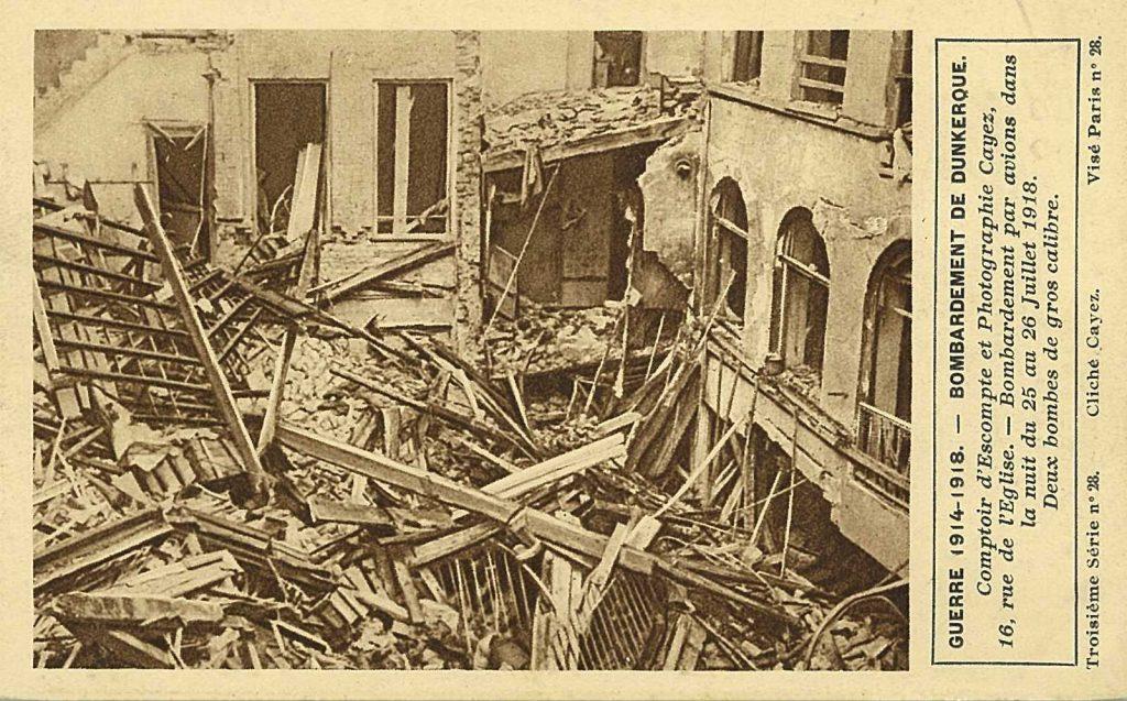 agence Dunkerque bombardée
