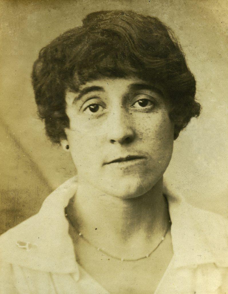Demande d'emploi de Jeanne Cibert, Crédit commercial de France, 1918.