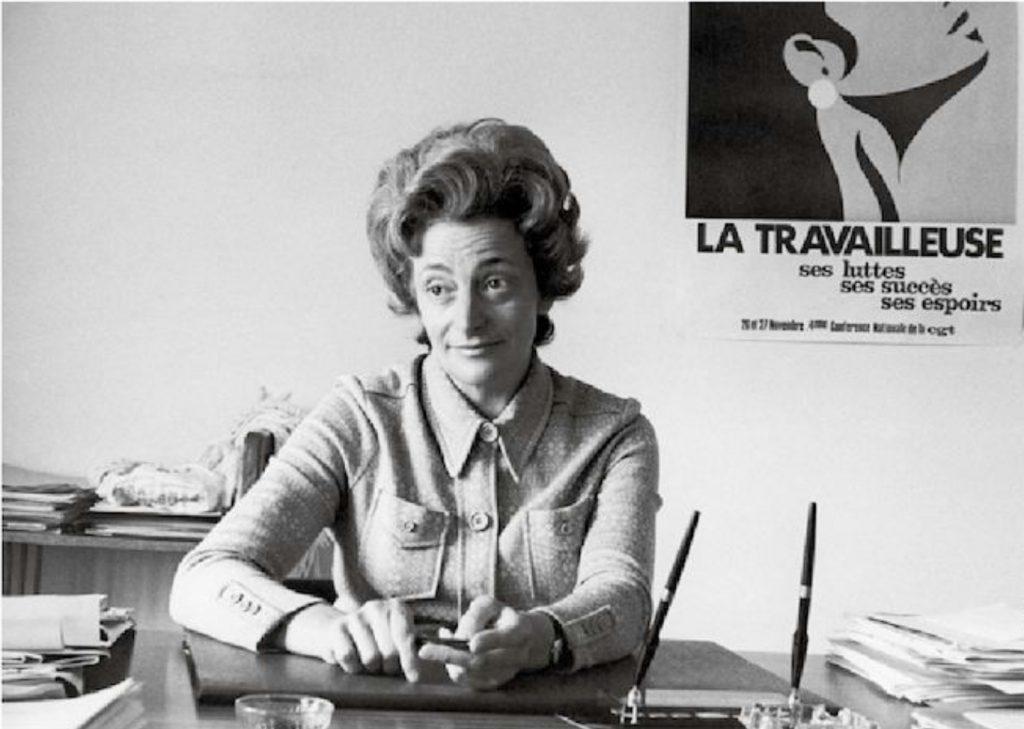 Christiane Gilles - Photothèque IHS - CGT