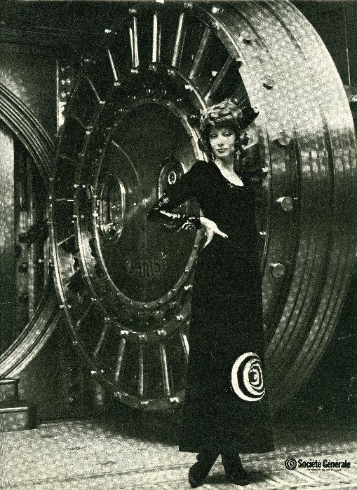 En 1971, même publicité dans « Elle », pour la Société générale. Société Générale, Archives historiques.