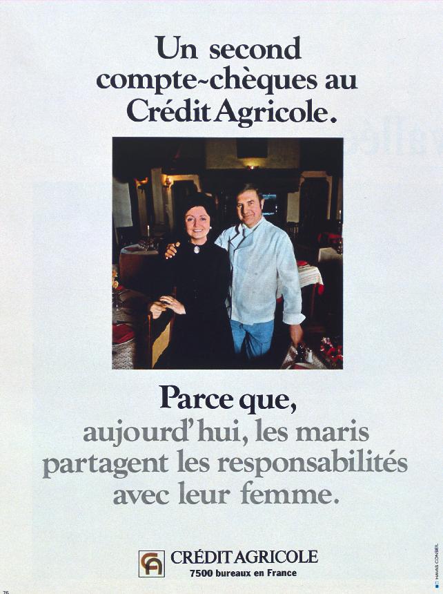 Affiche de 1971. Crédit Agricole SA, Archives historiques.