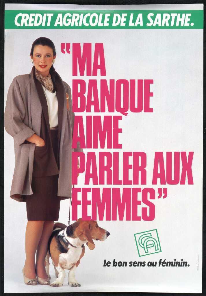 Affiche, vers 1985. Crédit Agricole S.A., Archives historiques.