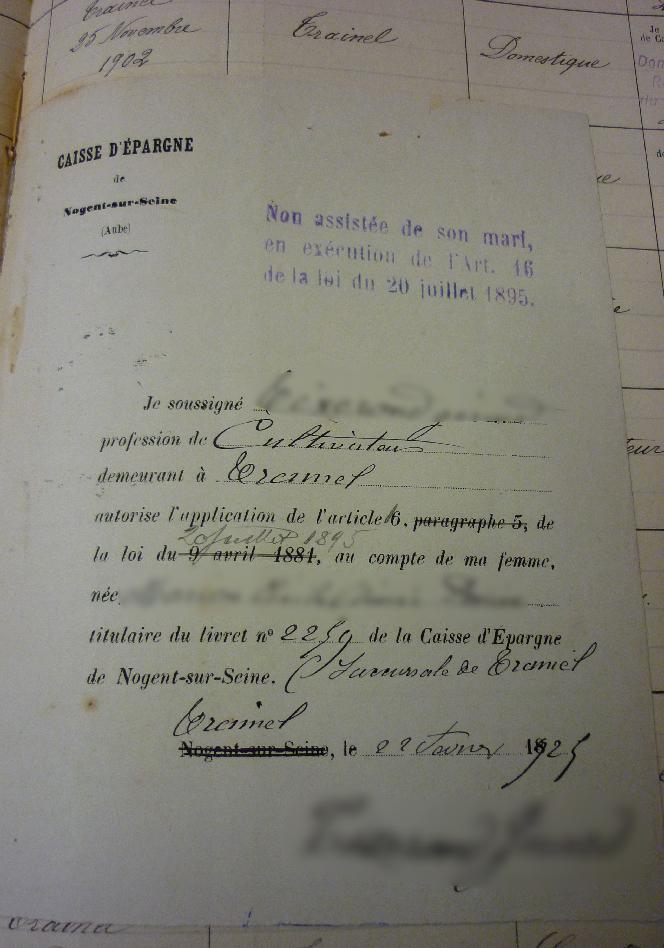 Source : Fédération nationale des Caisses d'Épargne, archives historiques.