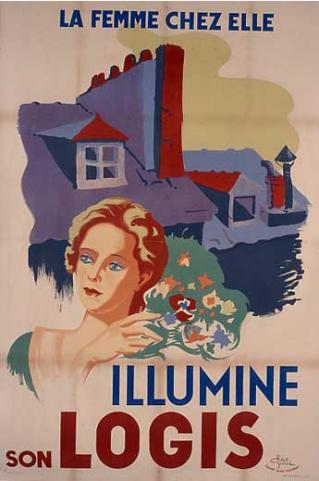 affiches de propagande réalisées sous le régime de Vichy par le collectif d'affichistes lyonnais qui se faisait appeler l'équipe « Alain-Fournier ». Collection CHRD Lyon.
